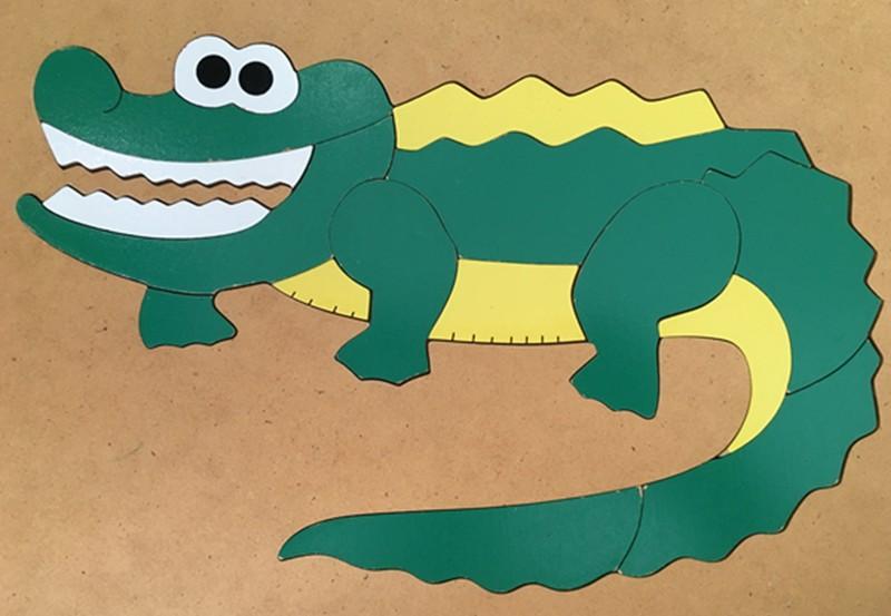 167: Puzzle: Crocodile