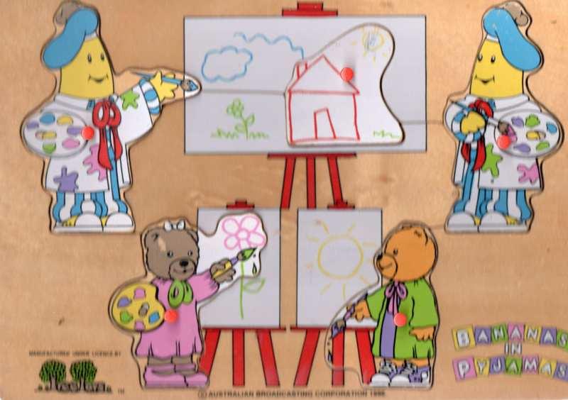703: Bananas in Pyjamas puzzle