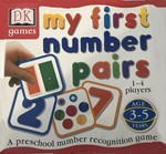 132: Number Pairs card  game