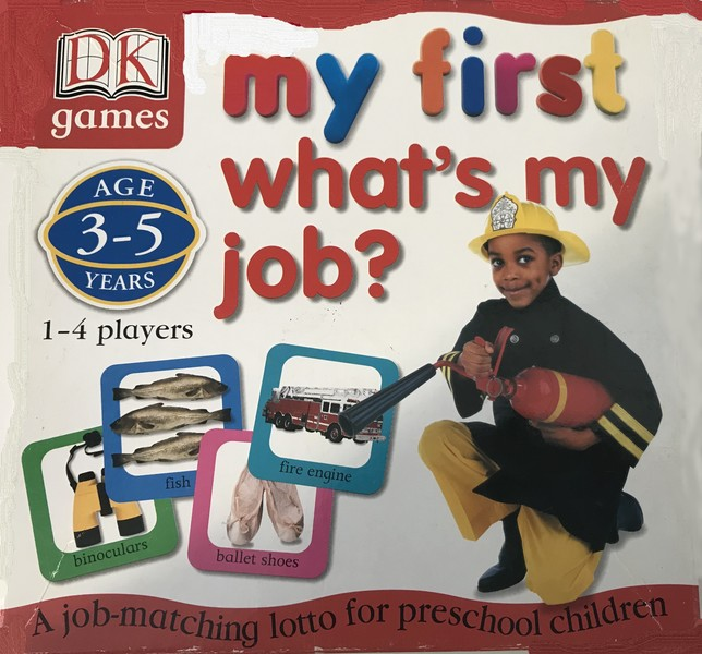 131: What's My Job card game