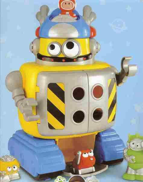 592: Retro Robot & transporter