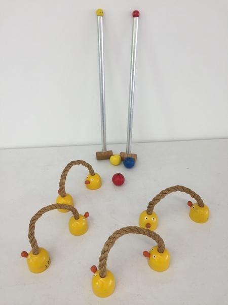 126: Animal Croquet Set