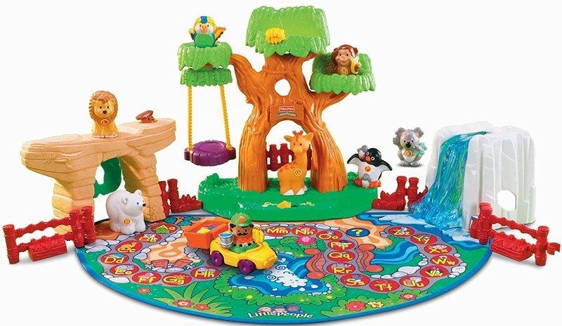 881: Little People ABC Zoo