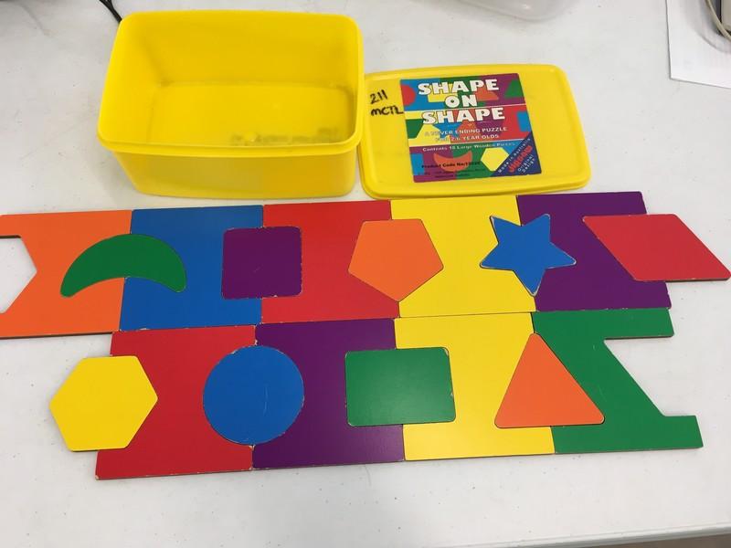 211: Shape on shape puzzle