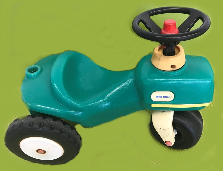 365: Toddler Tractor