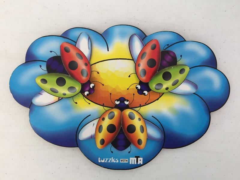 119: Tuzzle Ladybird