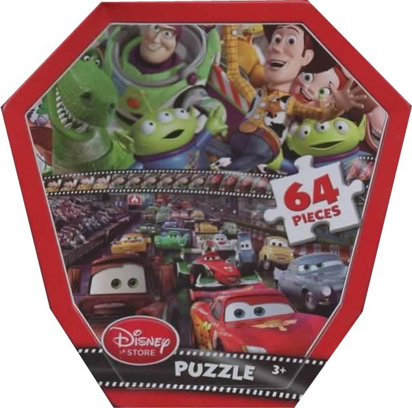 139: Puzzle: Toy Story and Cars