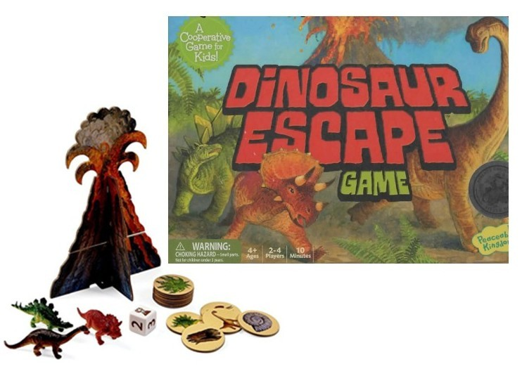 105: Game: Dinosaur Escape Game