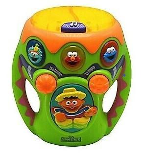 106: Sesame Street Musical Bongo Drum