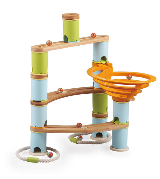 226: Bamboo Builder Marble Run
