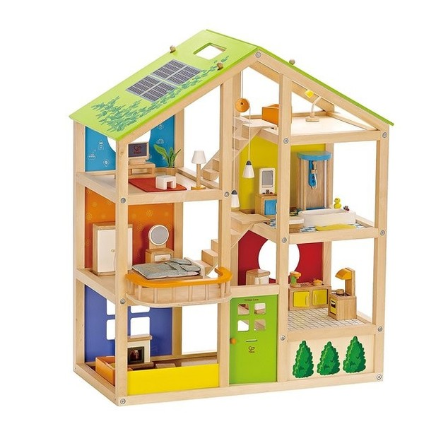 464: All Seasons wooden doll House