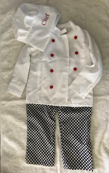 789: Chef Costume
