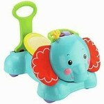 700: 3 in1 Bounce, Stride and Ride Elephant