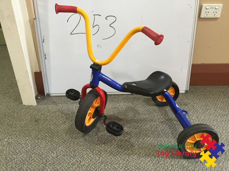 253: 3 wheel tricycle