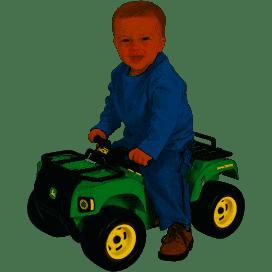 3044: John Deere Sit-n-Scoot Buck ATV Toy