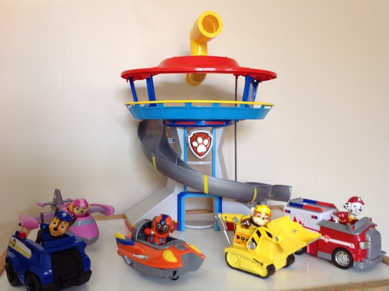 3059: Paw Patrol Lookout Playset