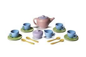 3066: Green toys tea set