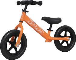 3076: Zippizap Balance Bike Orange