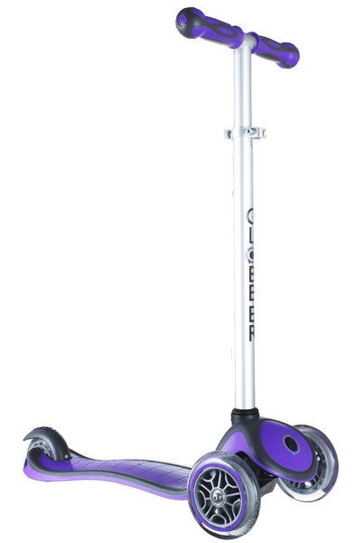 3078: Globber Primo Plus Scooter 3 Wheel Purple