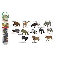 3084: Collecta Mini Wild Life Animals