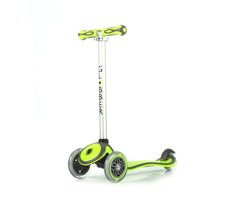 3089: Globber Primo Plus Scooter 3 Wheel Green