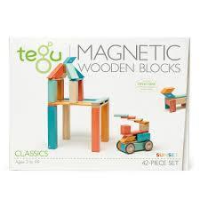 3106: Tegu Magnetic Wooden Blocks 42pcs