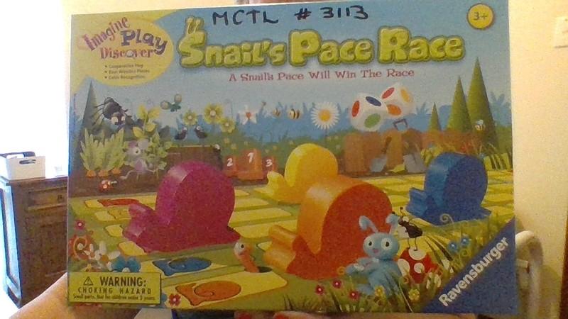 3113: Snail Pace Race