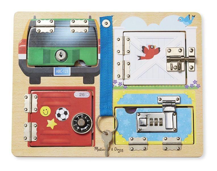 3144: Melissa & Doug- Locks Board