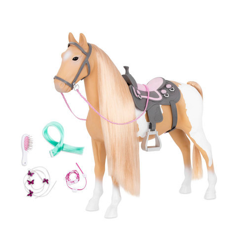3155: Horse and Doll Set