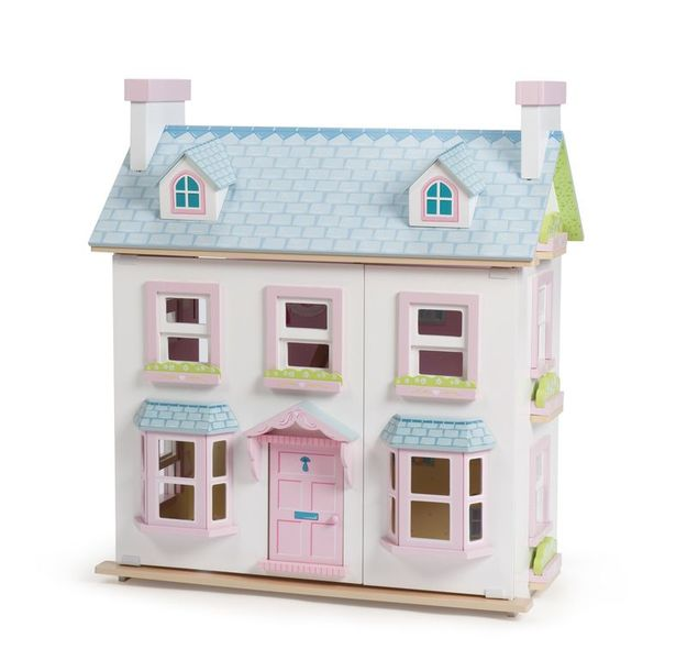 3178: Le Toy Van Dolls House Mayberry Manor and furniture