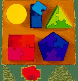 3190: Shape Jigsaw Fraction