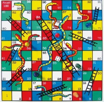 3196: Snakes and Ladders
