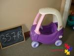 357: Little Tikes Princess Cosy Coupe