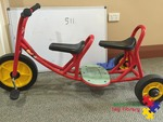 511: Weplay Double Seater Tricycle