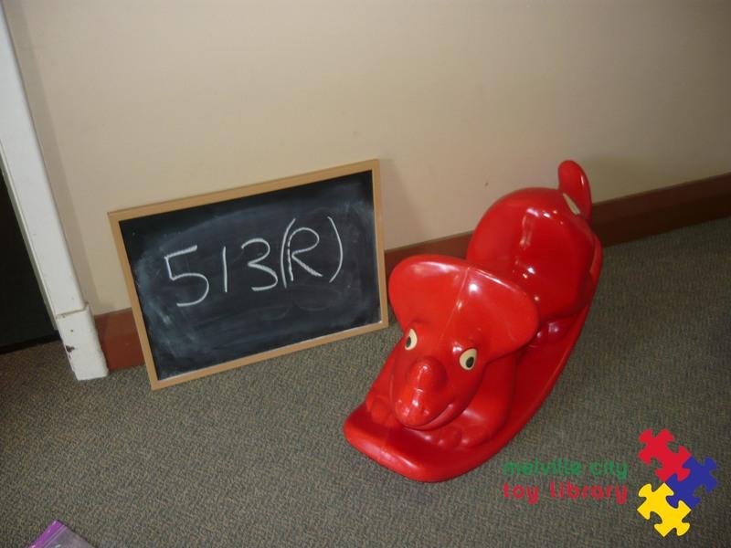 513: Rocking Dinosaur