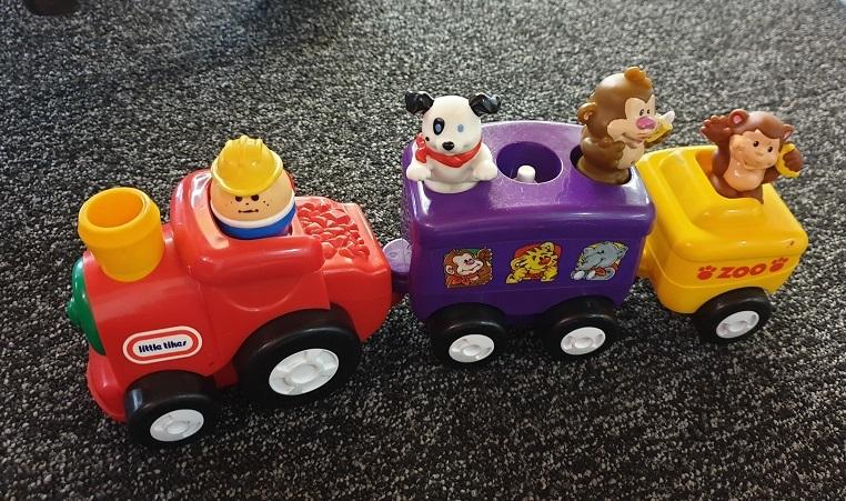 A7_7: Choo Choo Zoo Train