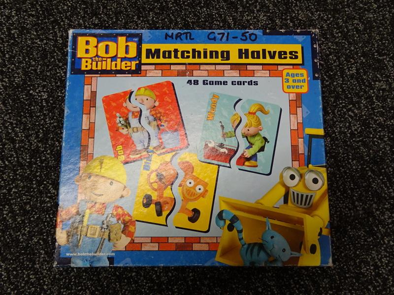 G71_50: Bob the Builder Matching Halves