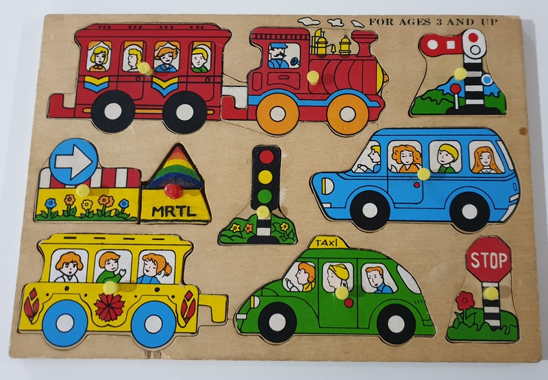 P156_11: Transport and Signs Puzzle