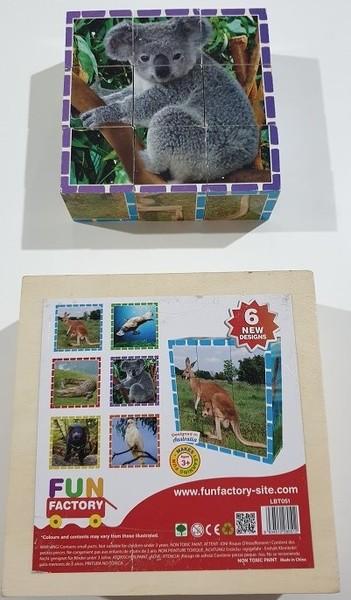 P205-10: Fun Factory Australian Wildlife Block Puzzle