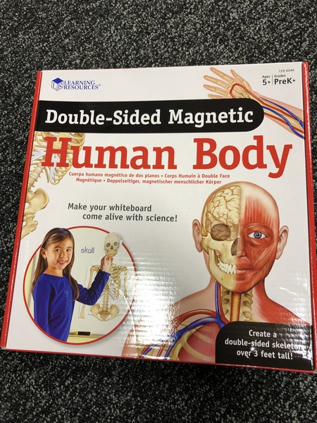 A320-18: Double Sided Magnetic Human Body