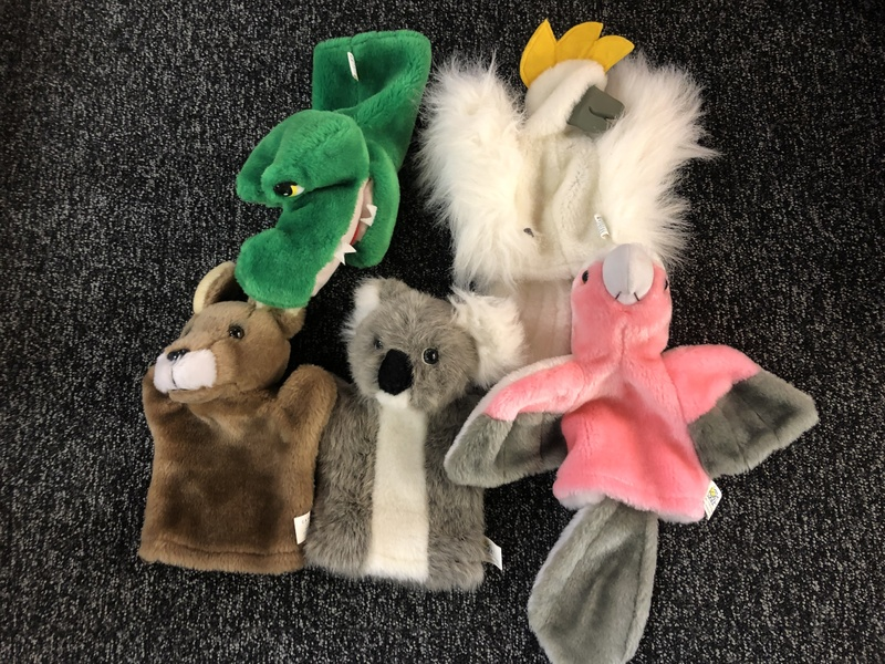 A273_5: Australian Animal Hand Puppets