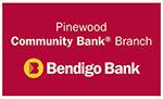 Bendigo bank pinewood logo
