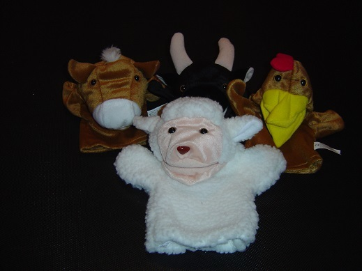 E27: Farm hand puppets