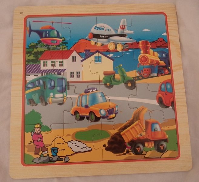 P49: A busy street scene puzzle