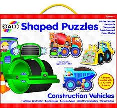 P164: 4 Construction vehicles puzzles