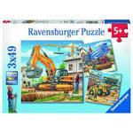 P212M: 3 Construction puzzles