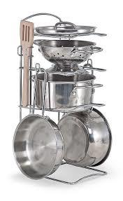I61: Stainless steel cooking set
