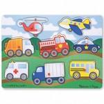 P017: Peg Puzzle - Vehicles