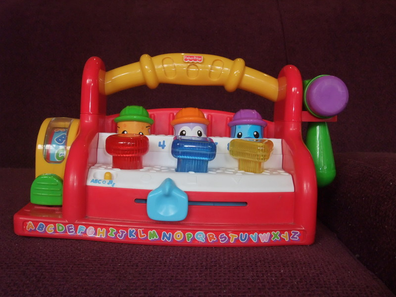 Ba81: Fisher Price Learning Toolbench