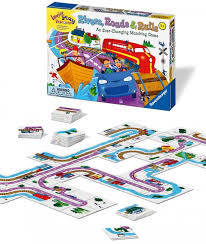Ga136: Ravensburger rivers, roads & rails